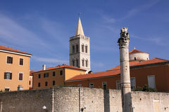 Croatia Zadar historical centre Royalty Free Stock Photo
