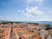 Croatia, Zadar old town area Royalty Free Stock Images