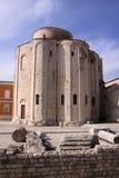Croatia Zadar St Donatus Church and forum Royalty Free Stock Images