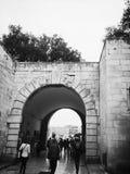 Croatia, Zadar. Zadar walls Zadar, Dalmatian pearl city high levels of cultural creativity, as evidenced by Roman columns and porticos, Romanesque, Renaissance Stock Photo