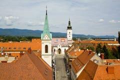 croatia Zagreb Obraz Stock