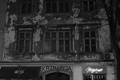 Old Building, city centre. Croatiafulloflife myproshot bnw zagreb croatia #whataboutcroatia explorer city night after rain architecture building culture center royalty free stock photos