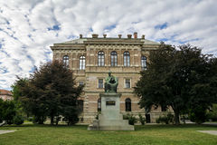 The Croatian Academy of Science and Arts, Zagreb stock photos