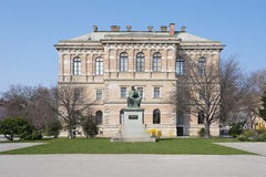 Croatian Academy of Sciences and Arts in City of Zagreb Croatia stock photography
