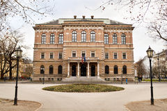 Croatian Academy of Sciences and Arts Stock Photo