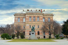 Croatian Academy of Sciences and Arts, Zagreb, Croatia Stock Photo