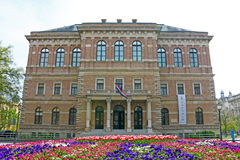 Croatian Academy of Sciences and Arts Stock Image