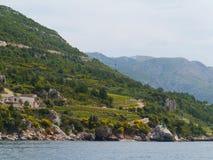 Croatian agriculture on the peninsula Peljesac Royalty Free Stock Photo