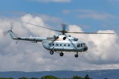 Croatian Air Force and Air Defence Mil Mi-8 Military helicopter stock photography