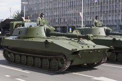 Croatian army parade Royalty Free Stock Photos