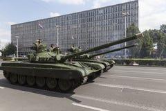 Croatian army parade Stock Image