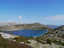 Croatian bay Royalty Free Stock Photo