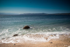 Croatian beach Stock Photos