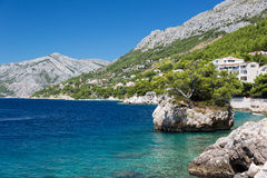Free Croatian Beach At A Sunny Day, Brela, Croatia Royalty Free Stock Photo - 33645575