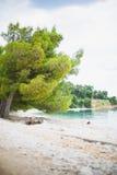 Croatian beach Stock Image