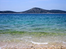 Croatia beach Stock Photography