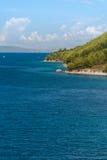 Croatian beach, Makarska Riviera. Photo of Croatian beach, Makarska Riviera, Dalmatia stock images