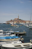 Croatian beachcity Stock Photos