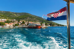 Croatian Bol city. Stock Photo