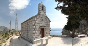 Croatian chapel Royalty Free Stock Photography