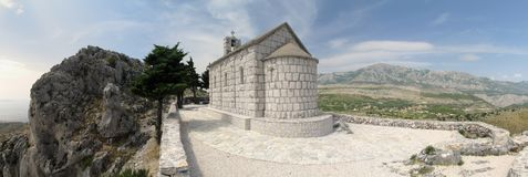 Croatian chapel Royalty Free Stock Photo
