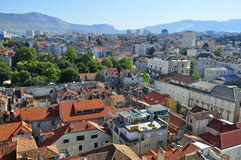 Croatian city Royalty Free Stock Image
