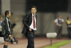 Croatian coach Bilic. Slaven Bilic young Croatian national soccer team coach Stock Photo