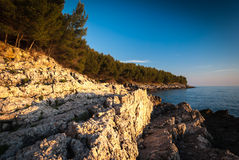 Croatian coast Royalty Free Stock Photos