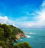 Croatian coast Stock Image