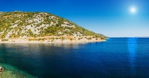 Croatian coast Royalty Free Stock Photography