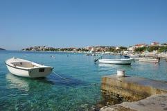 Croatian coast Royalty Free Stock Photo
