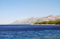 Croatian coast Royalty Free Stock Images