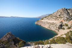 Croatian coastline Stock Photography