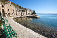 Croatian coastline Royalty Free Stock Photos