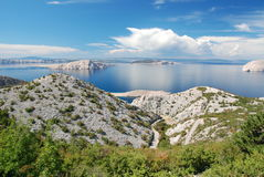 Croatian coastline Stock Photos