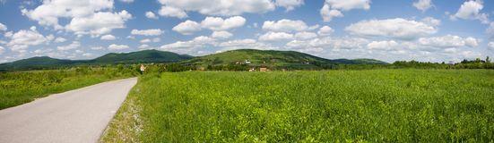 Croatian countryside Stock Photography