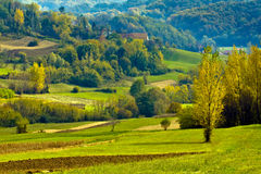 Croatian countryside Royalty Free Stock Photos