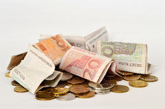 Croatian currency Stock Photography