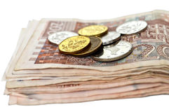Croatian currency isolated Stock Photos