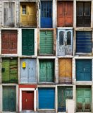 Croatian doors. 20 Croatian doors, wvry picture is 600x906px stock photo