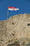 Croatian flag Royalty Free Stock Images