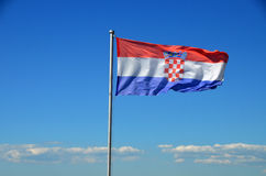 Croatian flag. Stock Photography