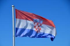 Croatian flag. Stock Images