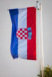 Croatian Flag - Stock Image Royalty Free Stock Images