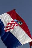 Croatian flag Stock Images
