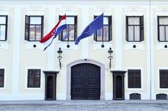 Croatian Government, Zagreb, Croatia Stock Images