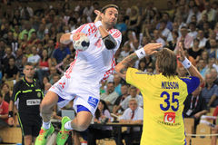 Croatian handball player Ivano Ballic Stock Photography