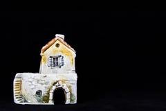Croatian house, national architecture Stock Photos