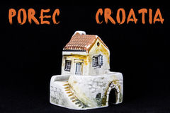 Croatian house, national architecture Royalty Free Stock Image