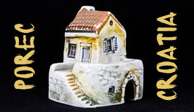 Croatian house, national architecture Royalty Free Stock Images
